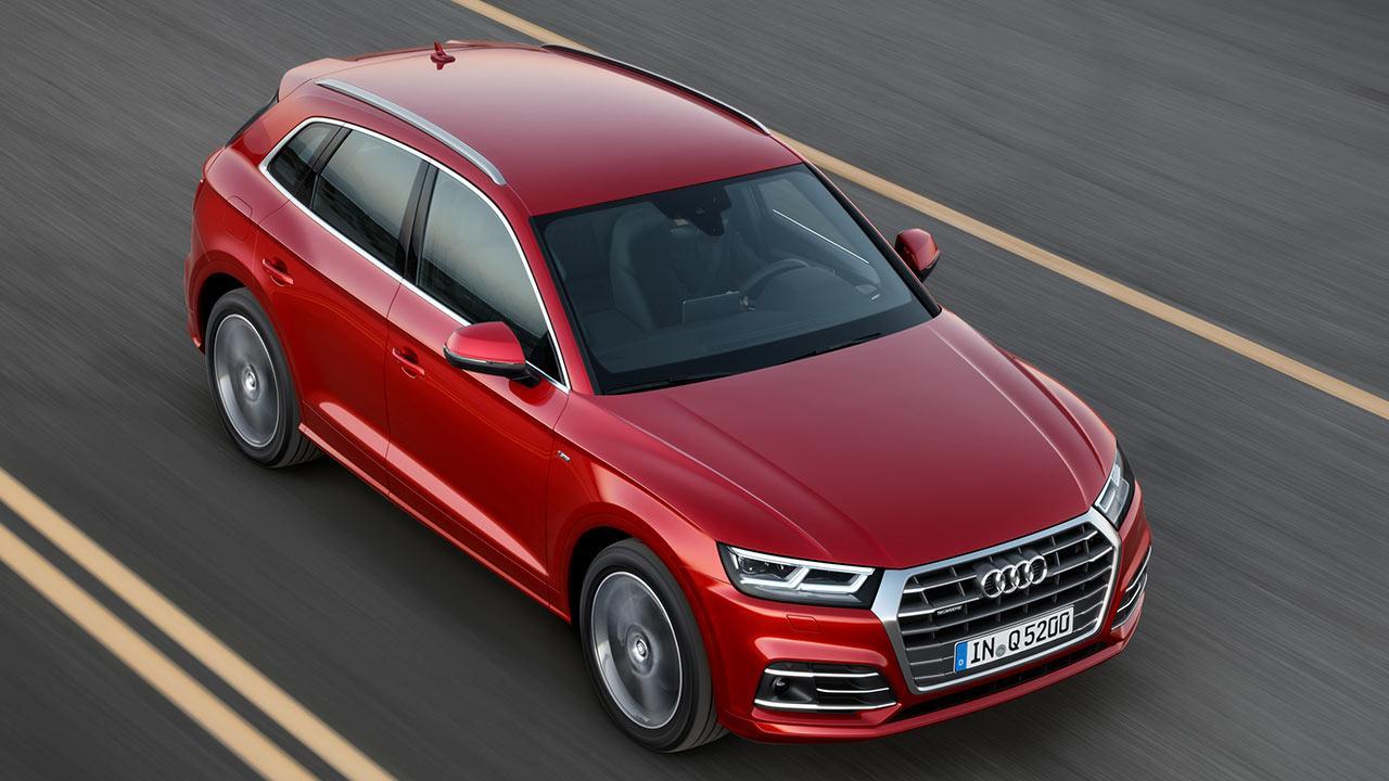 Audi Q5 - Vogelperspektive
