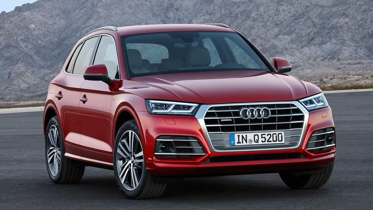 Audi Q5 - Frontansicht