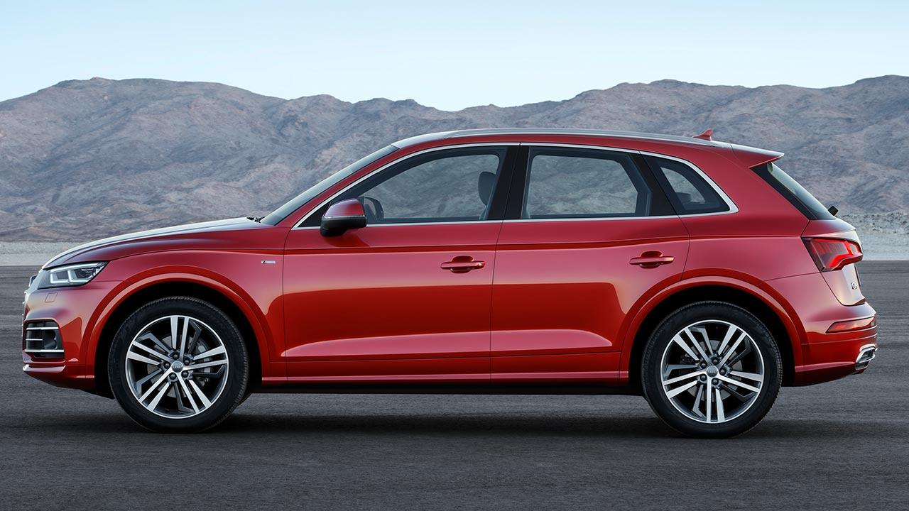 Audi Q5 - Seitenansicht