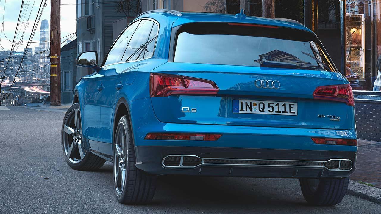 Audi Q5 55 TFSI e quattro - Heckansicht