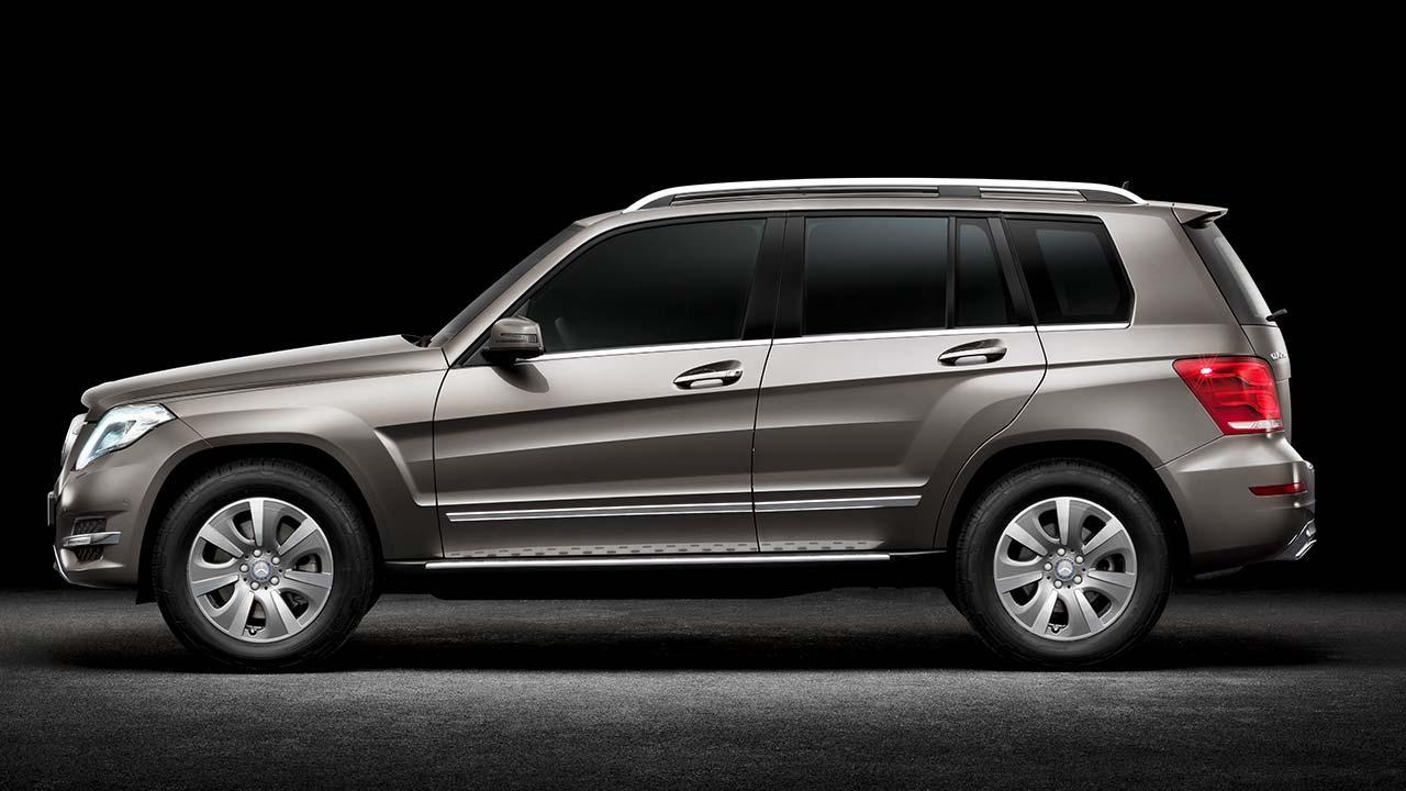 Mercedes-Benz GLK - Seitenansicht
