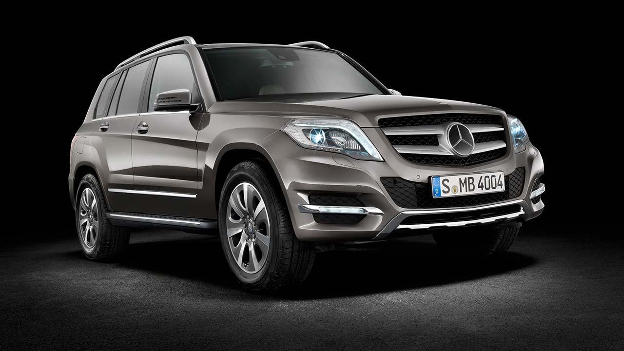 Mercedes-Benz GLK - Seitenansicht von link vorne