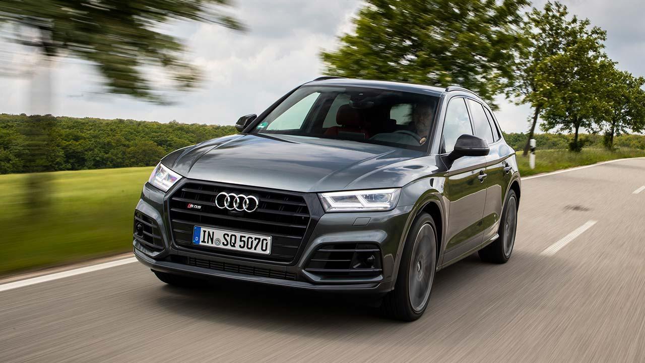 Audi SQ5 TDI - in voller Fahrt