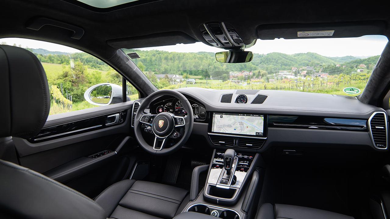 Porsche Cayenne Coupé - Cockpit