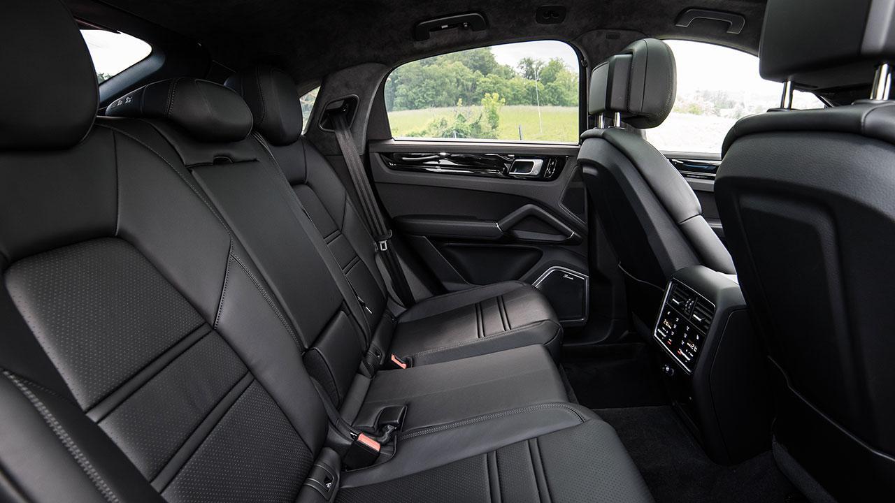 Porsche Cayenne Coupé - Rücksitze