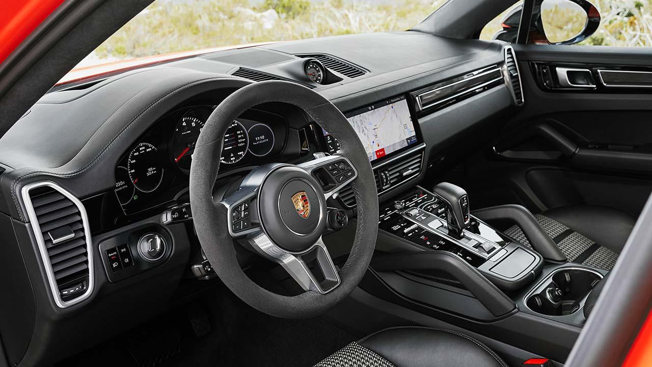 Porsche Cayenne Coupé - Lenkrad