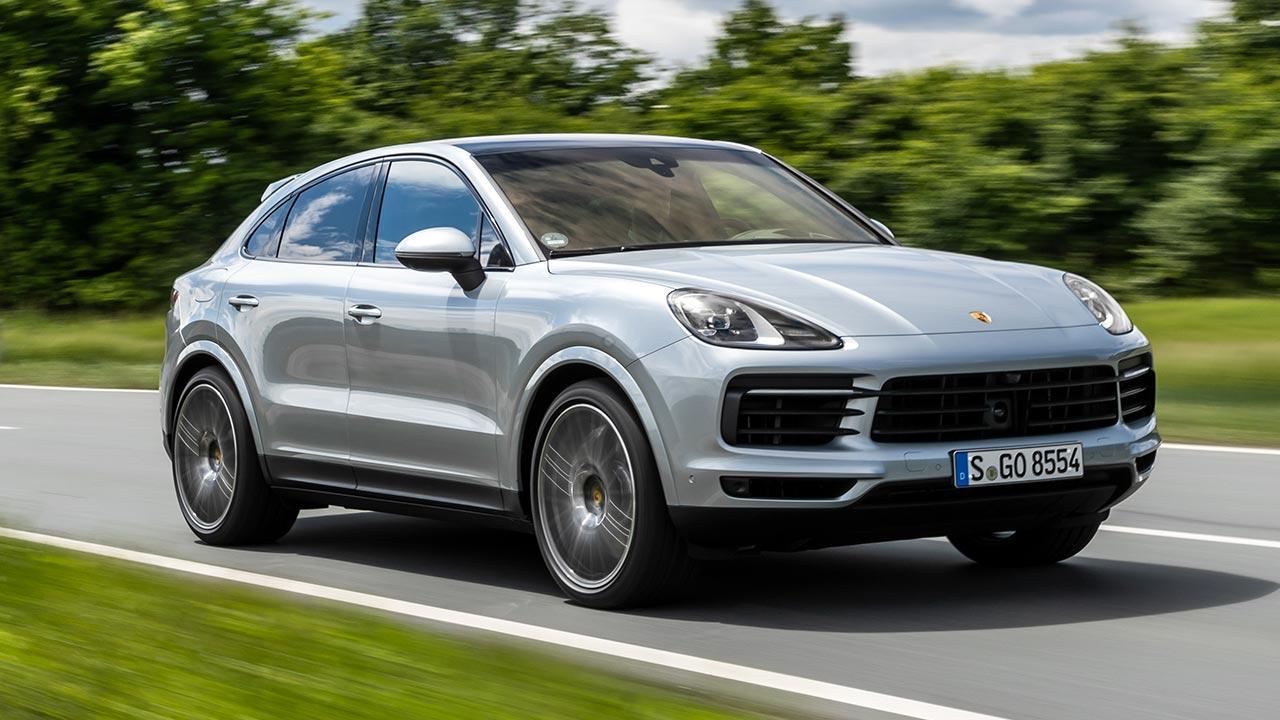 Porsche Cayenne S Coupé - in voller Fahrt