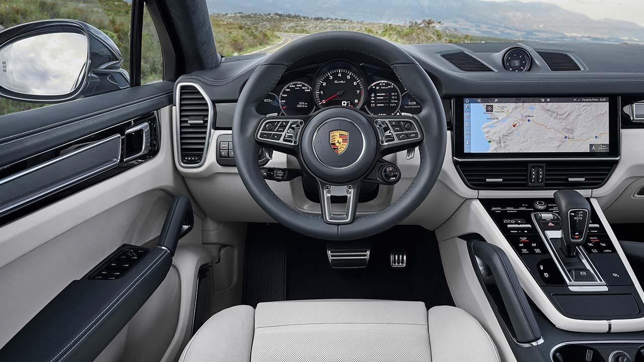 Porsche Cayenne Turbo Coupé - Cockpit