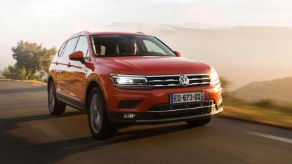 Volkswagen Tiguan Allspace - in voller Fahrt