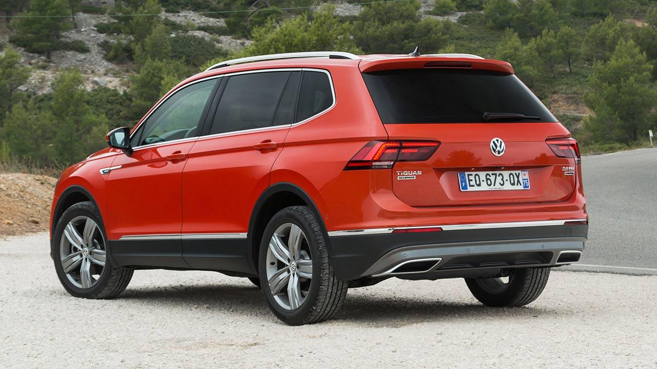 Volkswagen Tiguan Allspace - Heckansicht