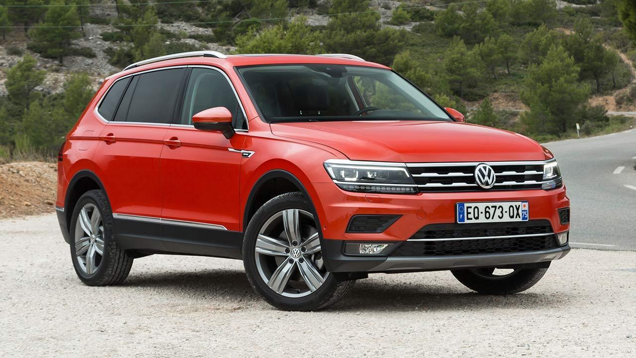 Volkswagen Tiguan Allspace - Seitenansicht