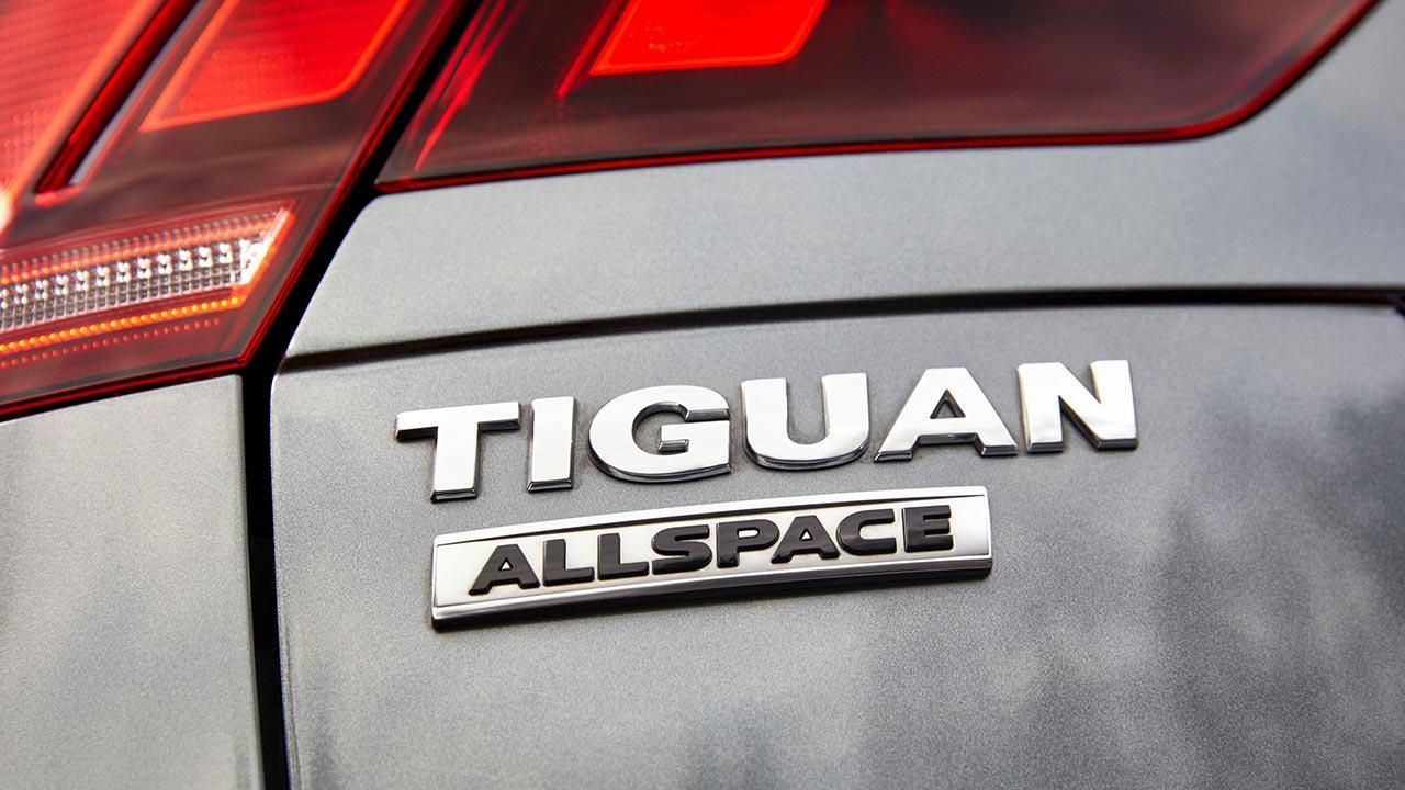 Volkswagen Tiguan Allspace - Schriftzug