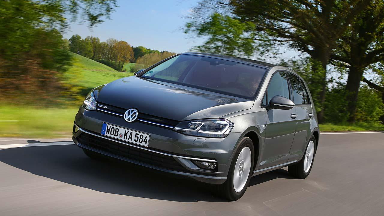 Volkswagen Golf VII TGI - in voller Fahrt