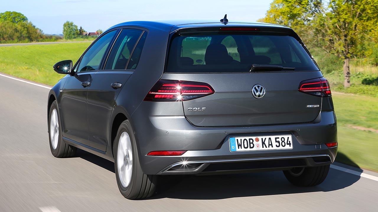 Volkswagen Golf VII TGI - Heckansicht