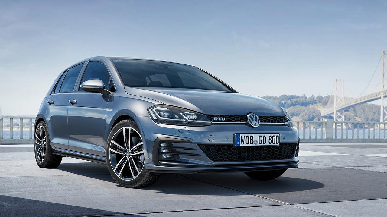 Volkswagen Golf GTD - Frontansicht