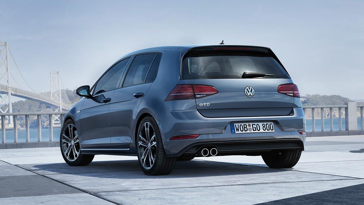 Volkswagen Golf GTD - Heckansicht