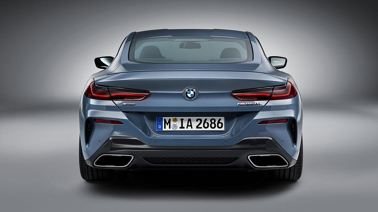 BMW M8 Coupé - Heckansicht