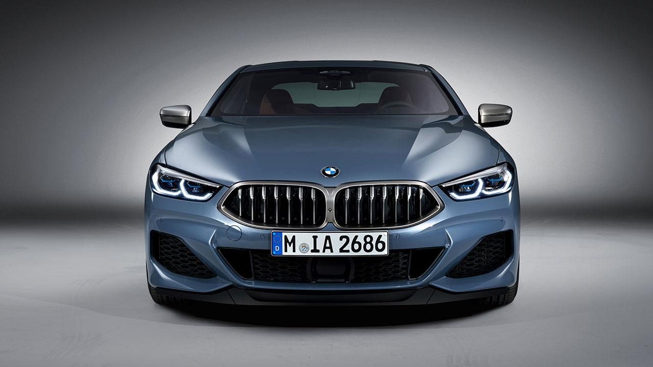 BMW M8 Coupé - Frontansicht