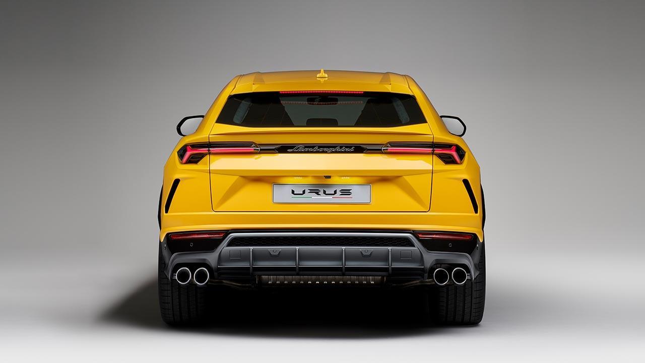 Lamborghini Urus - Heckansicht