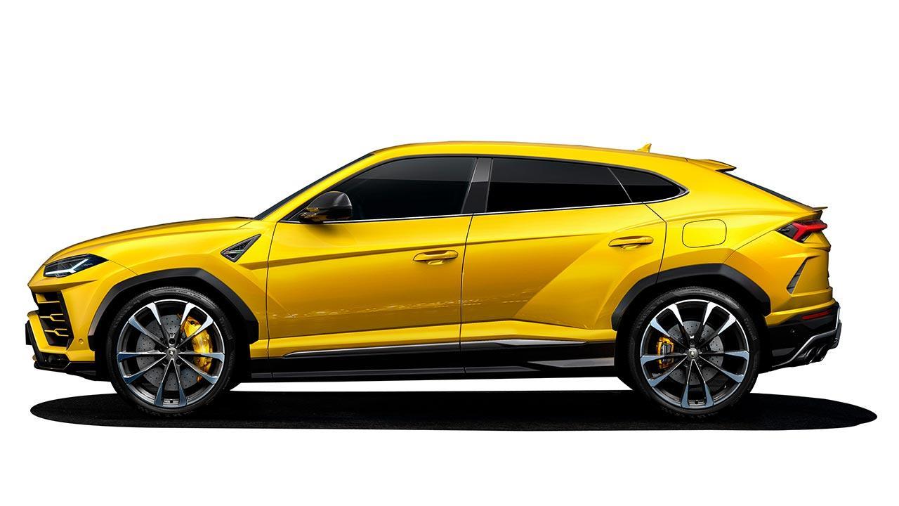 Lamborghini Urus - Seitenansicht