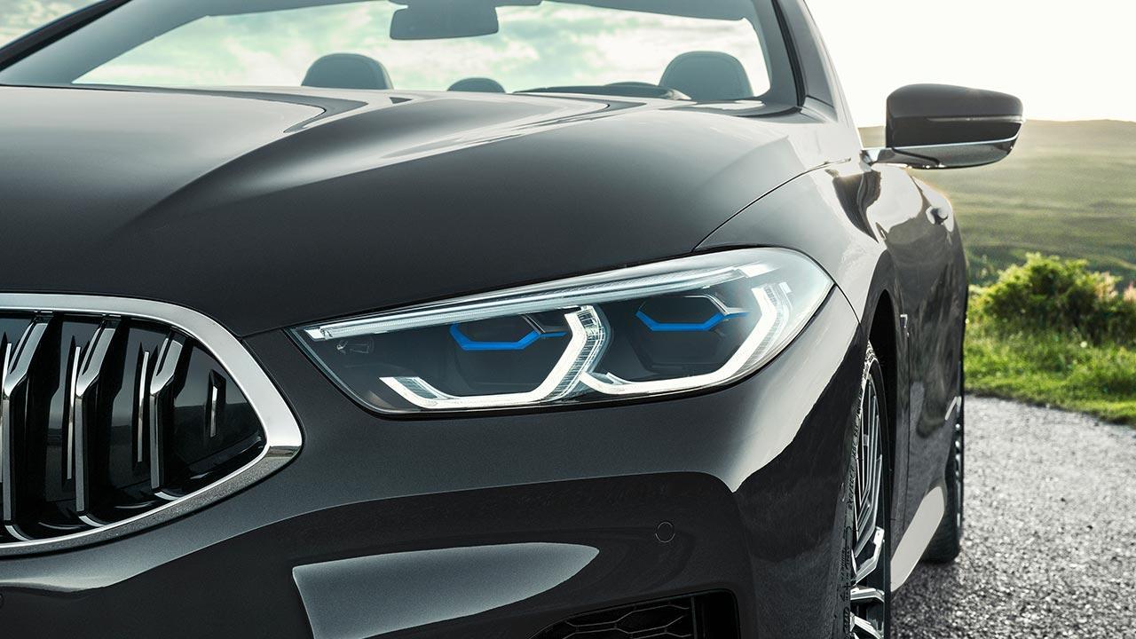 BMW M8 Cabriolet - Scheinwerfer