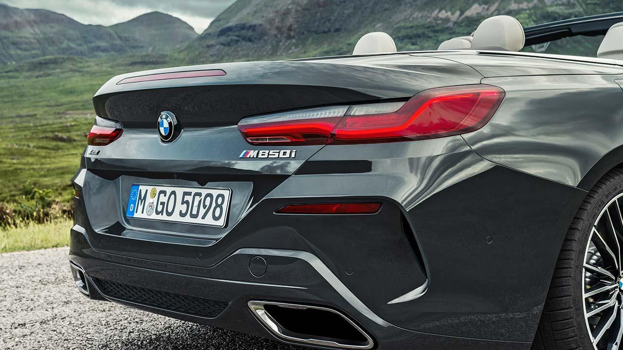 BMW M8 Cabriolet - Heck