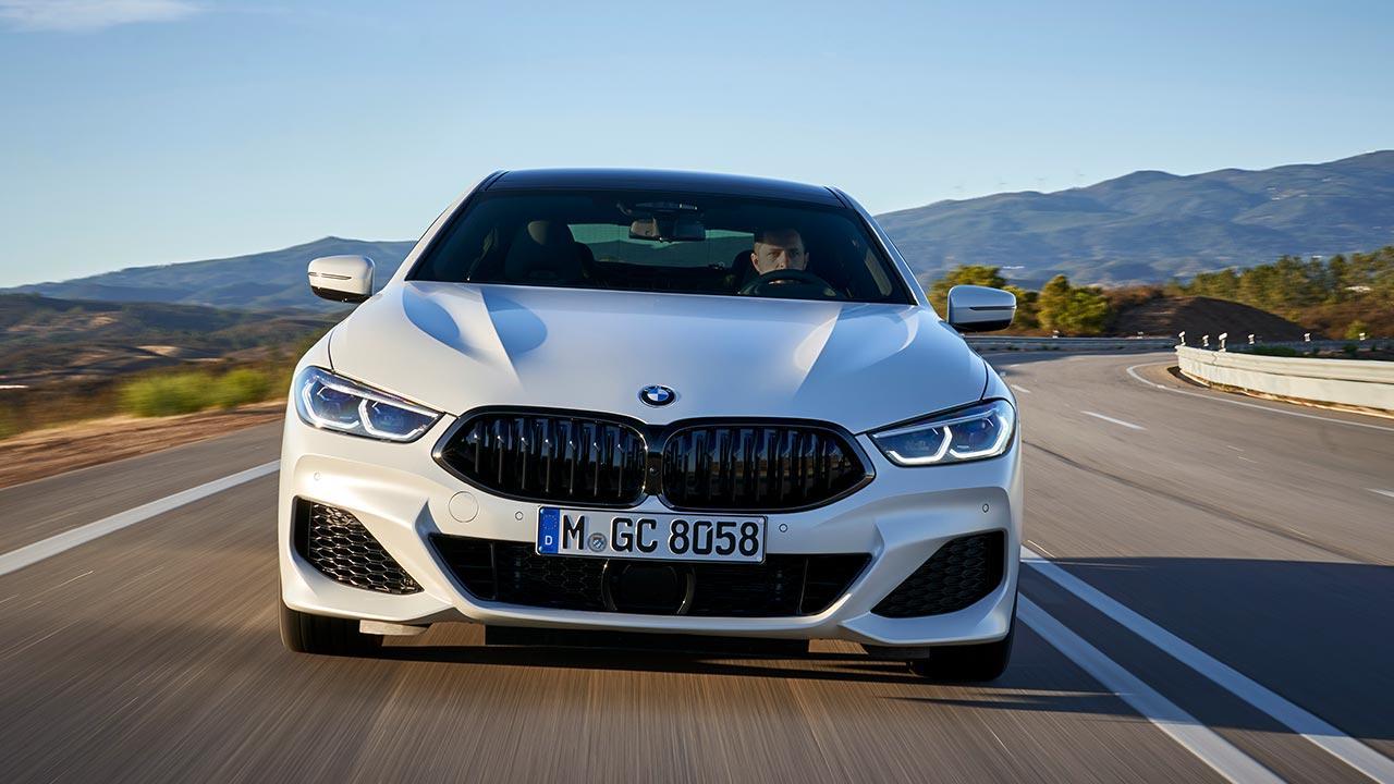 BMW 8er Gran Coupé - Frontansicht