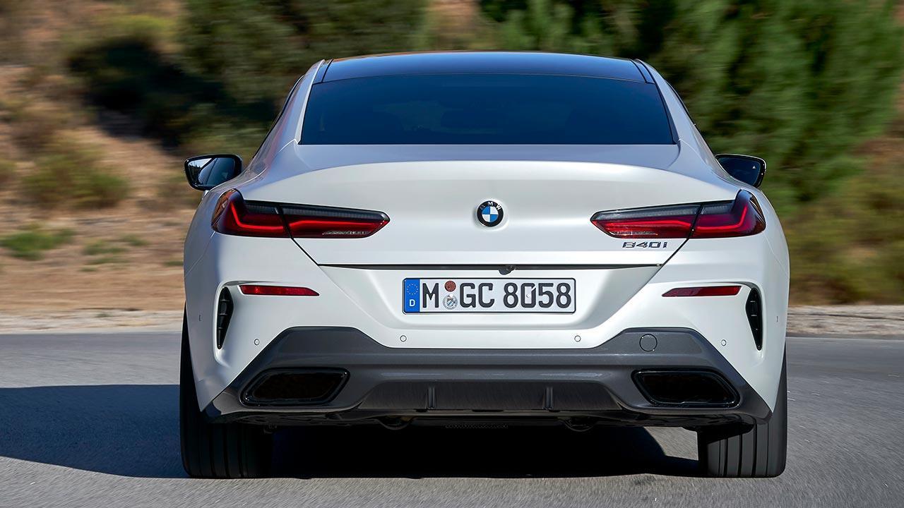 BMW 8er Gran Coupé - Heckansicht