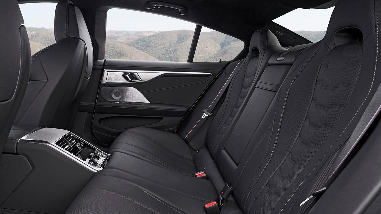 BMW 8er Gran Coupé - Rücksitze