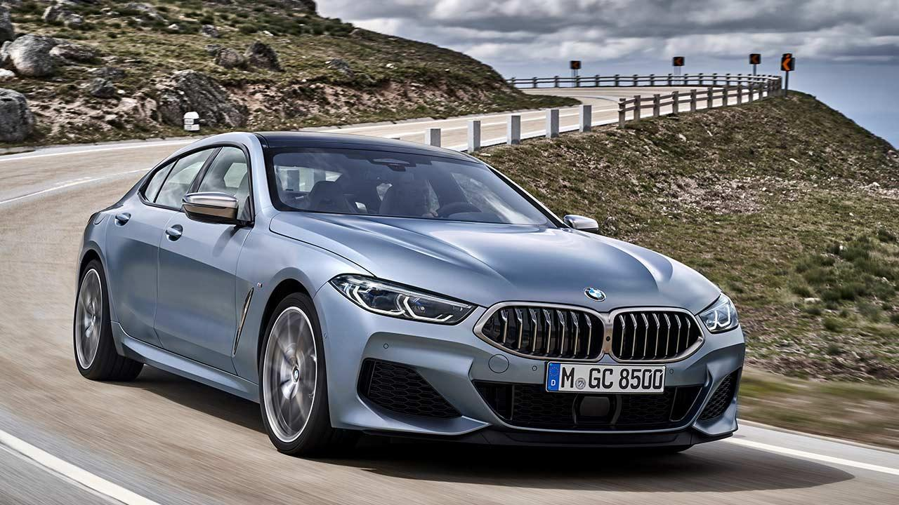 BMW M8 Gran Coupé - in der Kurve