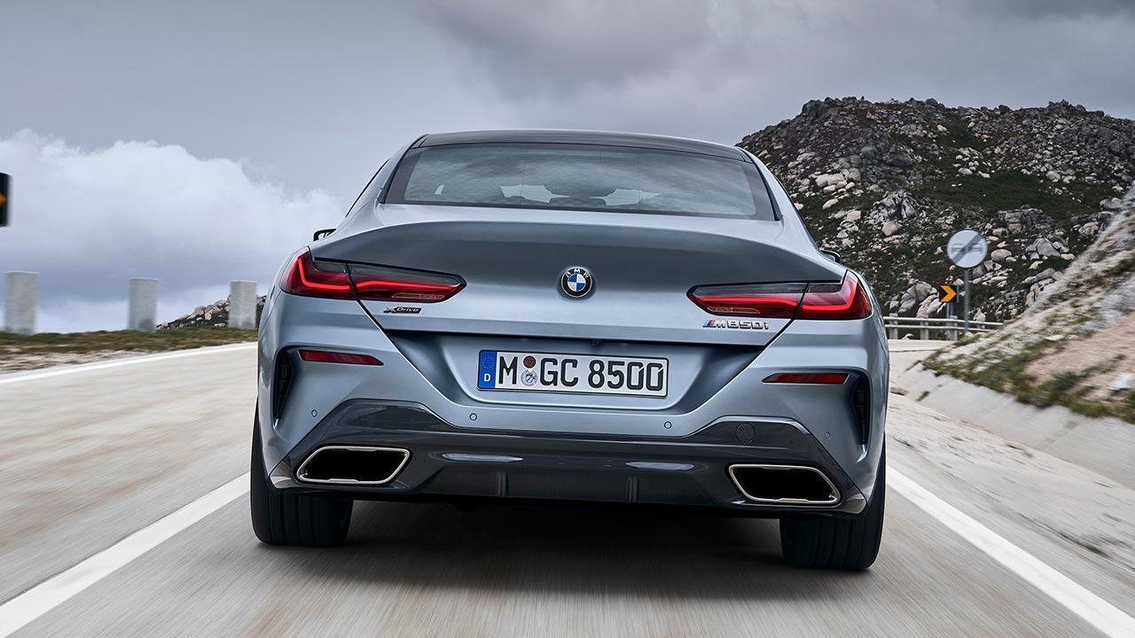 BMW M8 Gran Coupé - Heckansicht