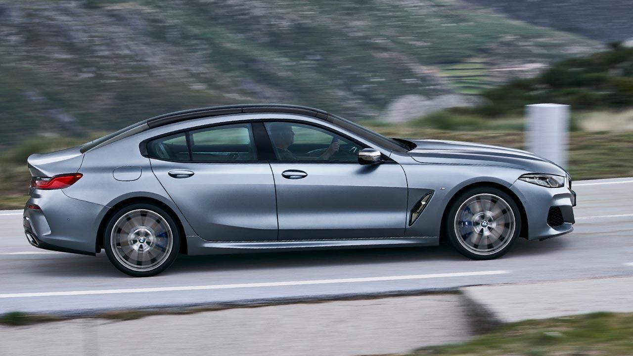 BMW M8 Gran Coupé - Seitenansicht