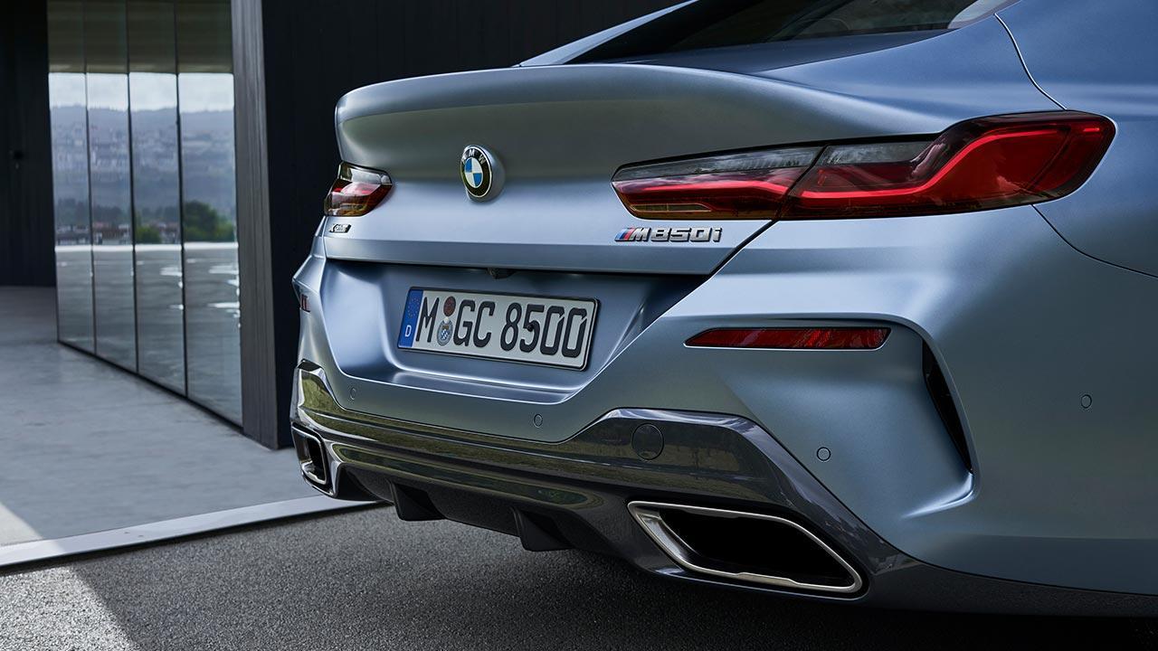 BMW M8 Gran Coupé - Heck