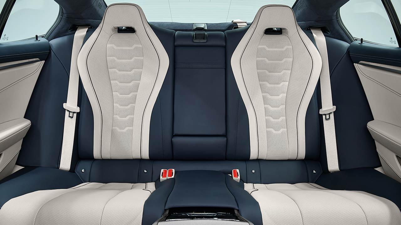 BMW M8 Gran Coupé - Rücksitze