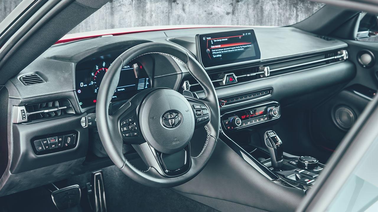 Toyota GR Supra - Cockpit