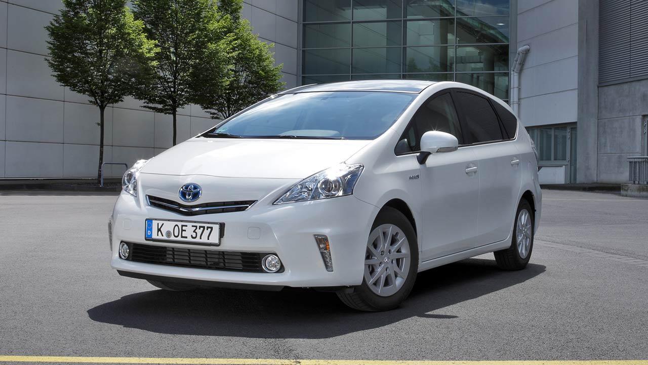 Toyota Prius Plus - Frontansicht