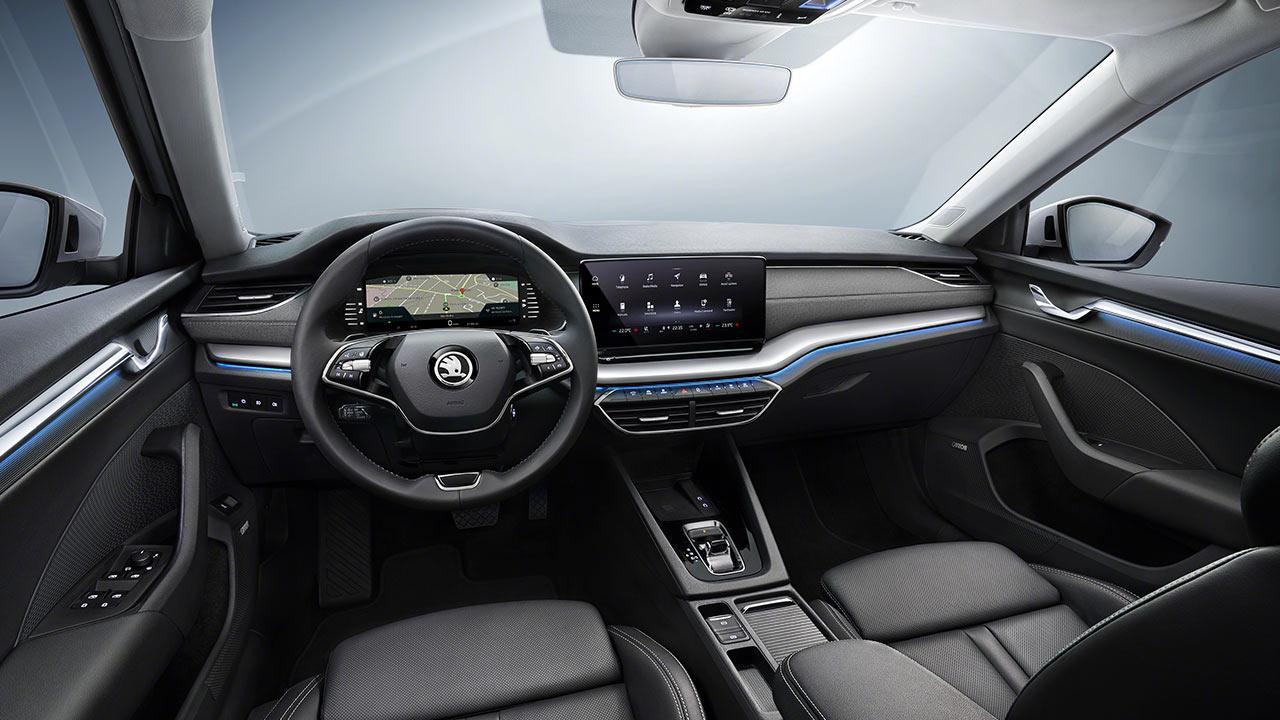 Skoda Octavia Limousine - Cockpit