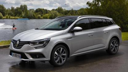 Renault Mégane Grandtour - am See