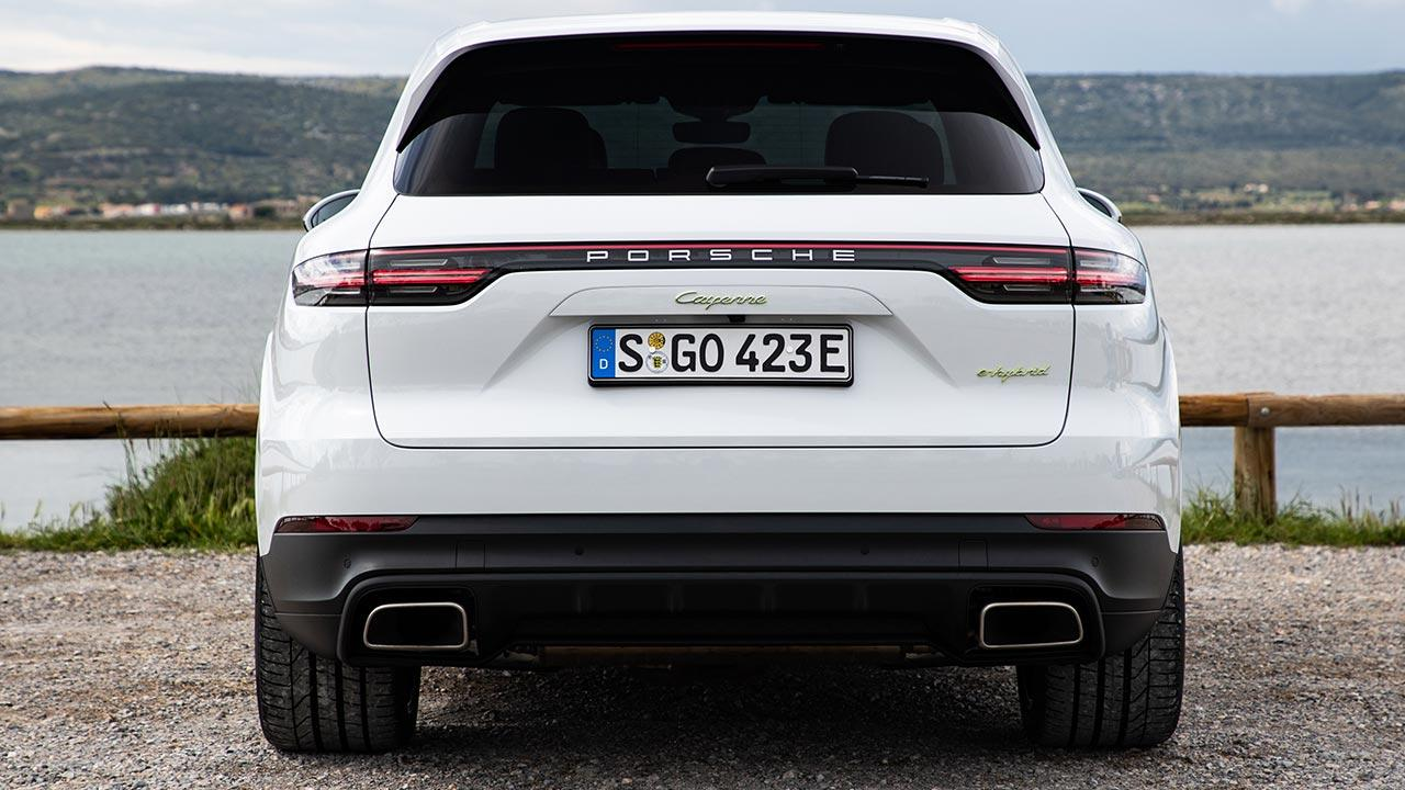 Porsche Cayenne E-Hybrid - Heckansicht