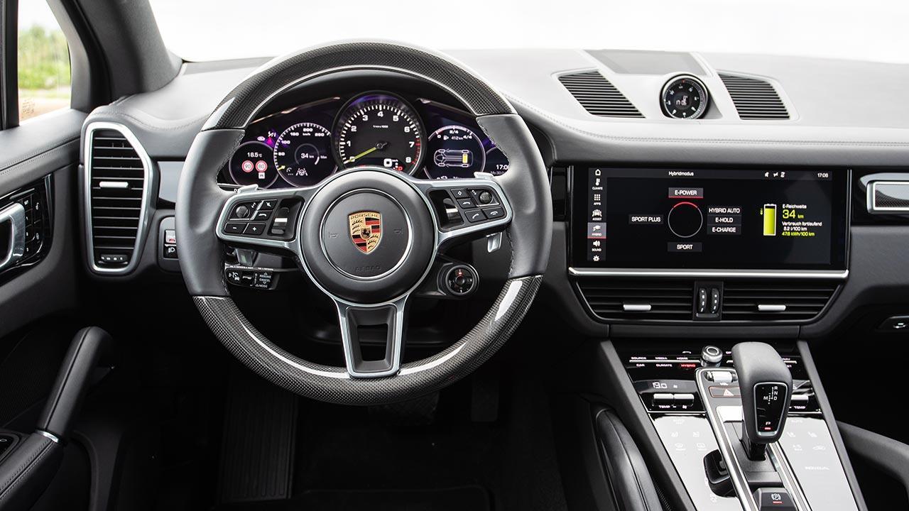 Porsche Cayenne E-Hybrid - Cockpit