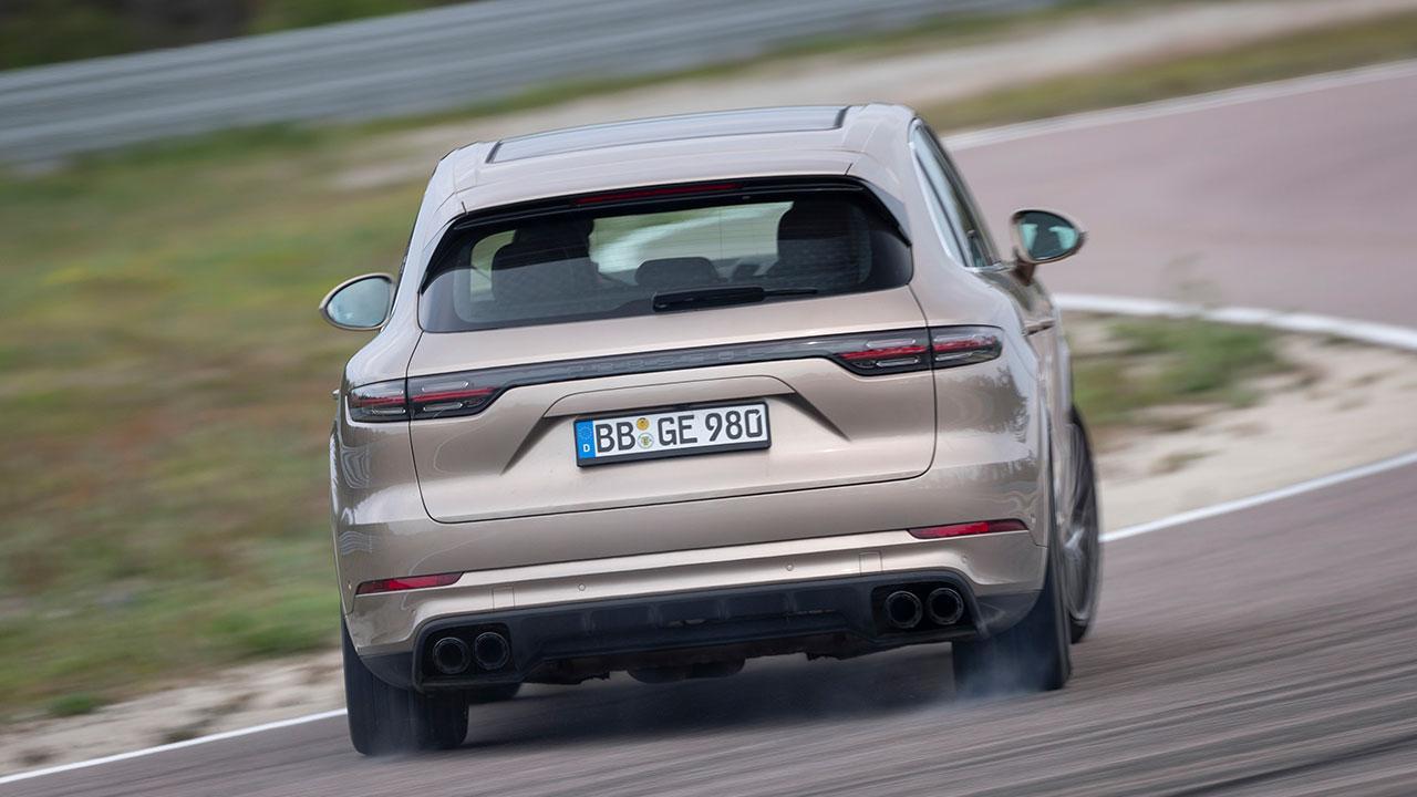Porsche Cayenne Turbo S E-Hybrid - Heckansicht