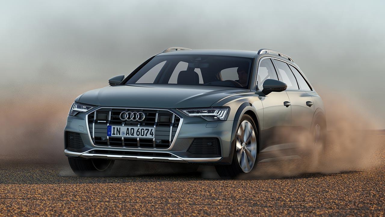 Audi A6 allroad quattro - durch die Wüste
