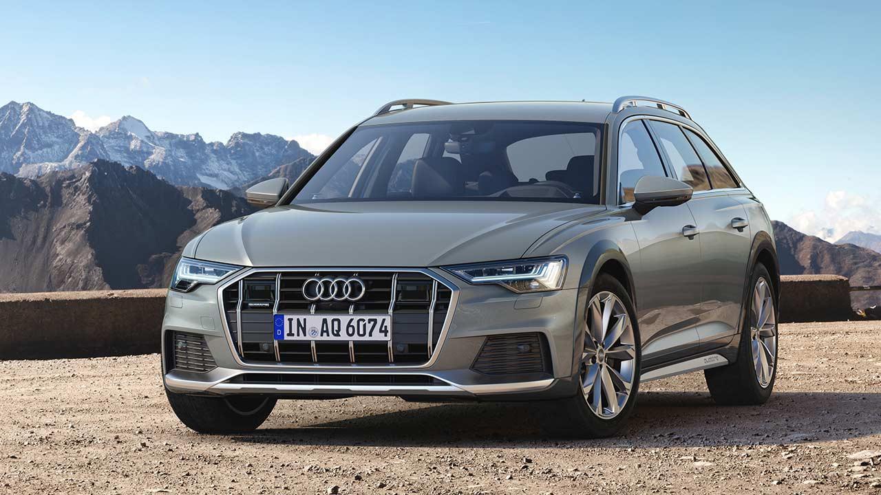 Audi A6 allroad quattro - Frontansicht
