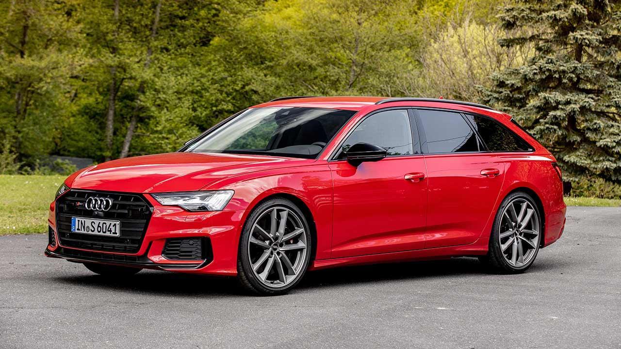 Audi S6 Avant - Seitenansicht