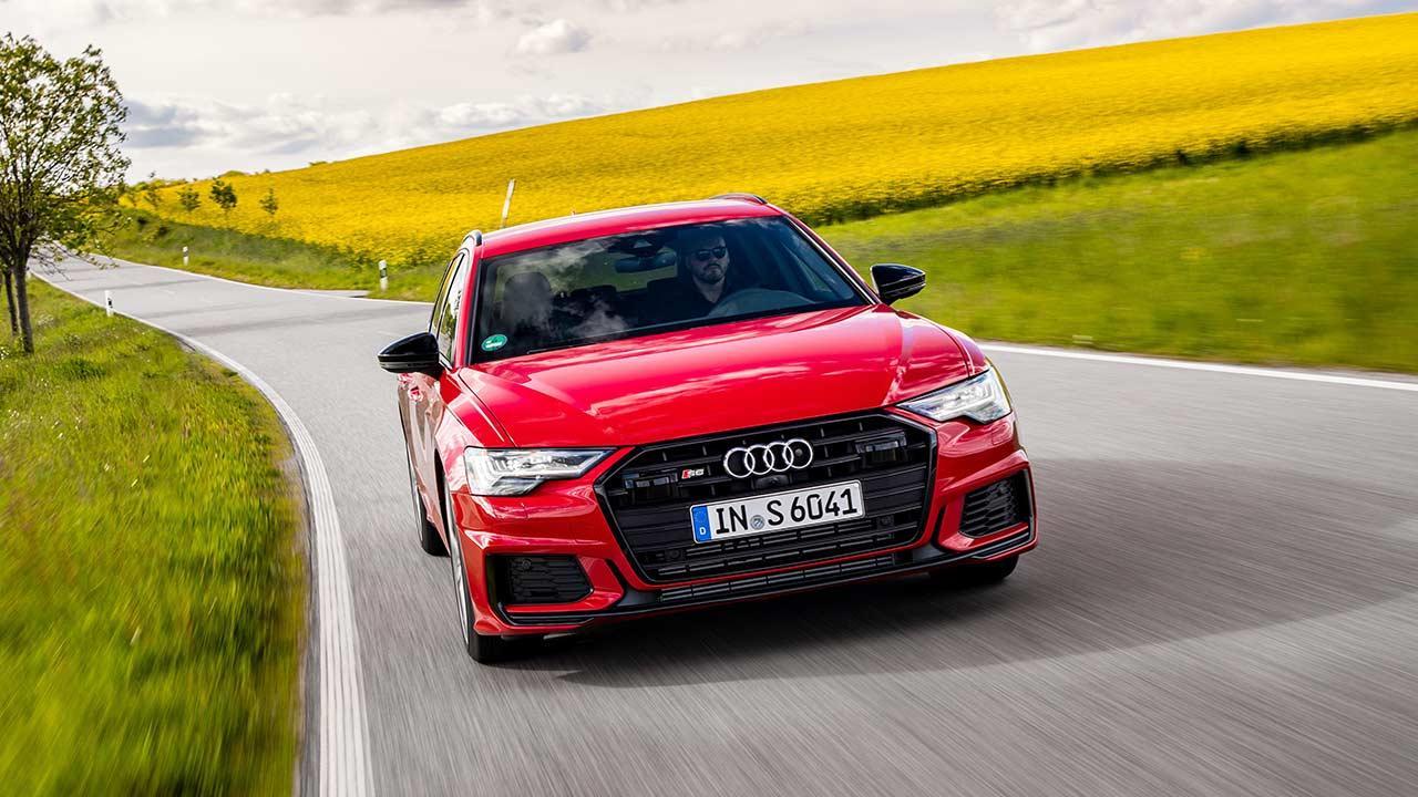 Audi S6 Avant - in voller Fahrt