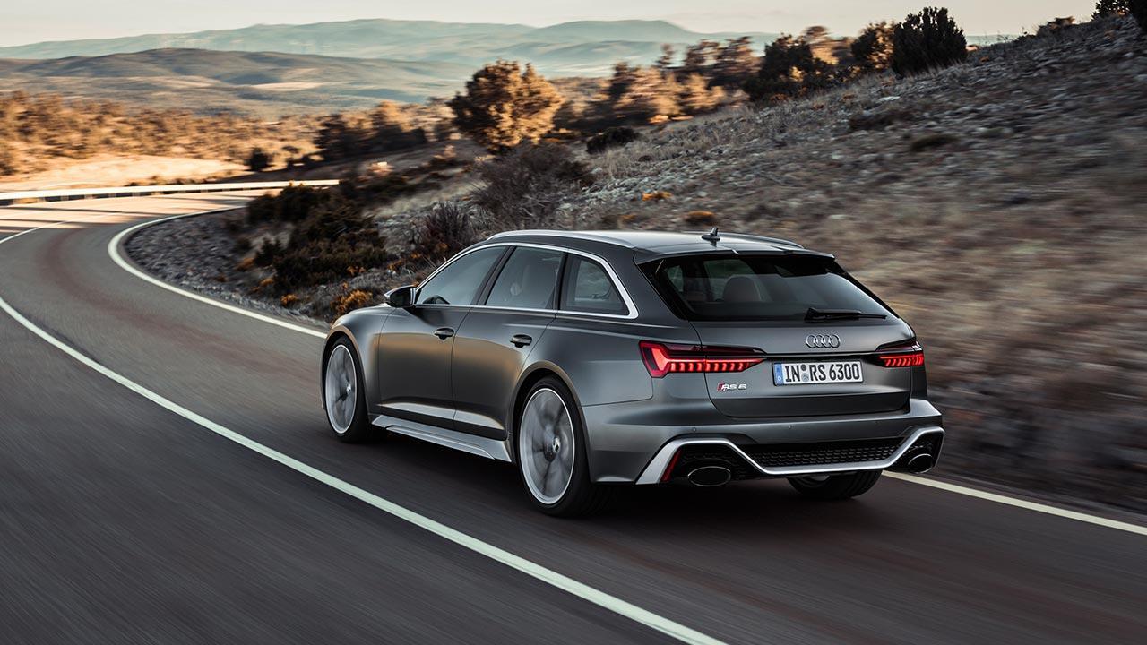 Audi RS 6 Avant - Heckansicht