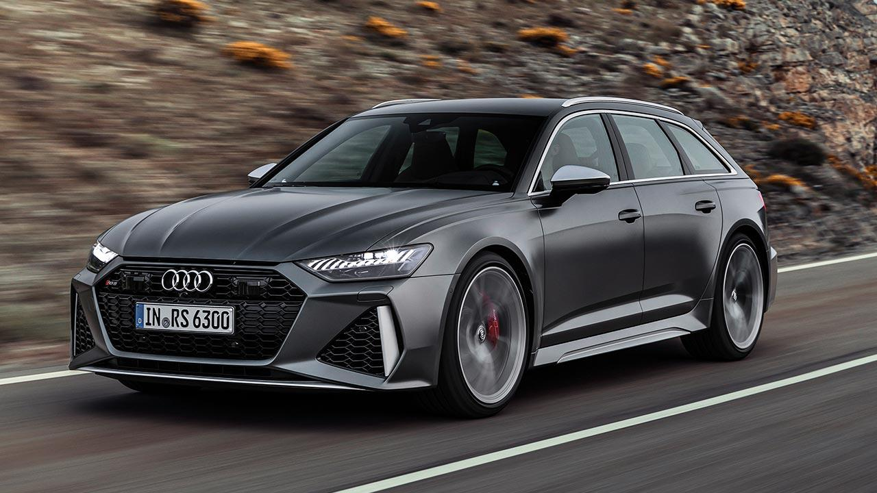 Audi RS 6 Avant - in voller Fahrt