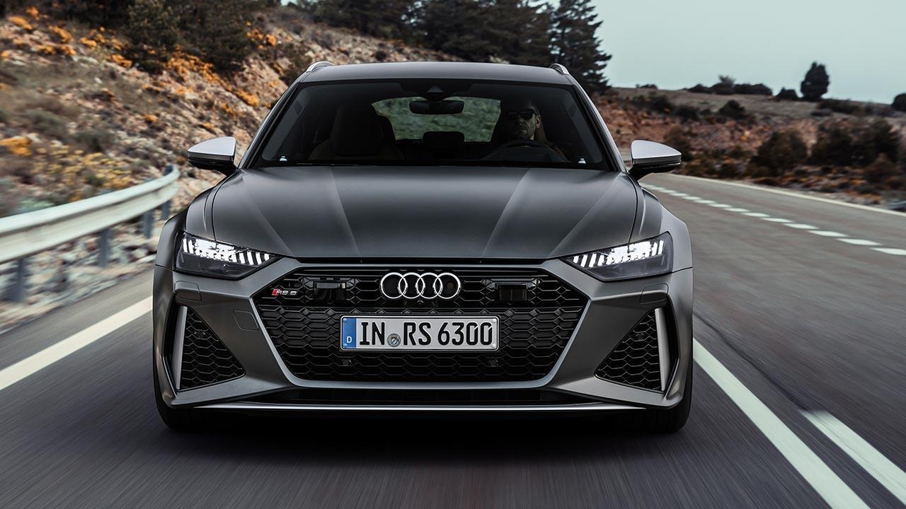 Audi RS 6 Avant - Frontansicht