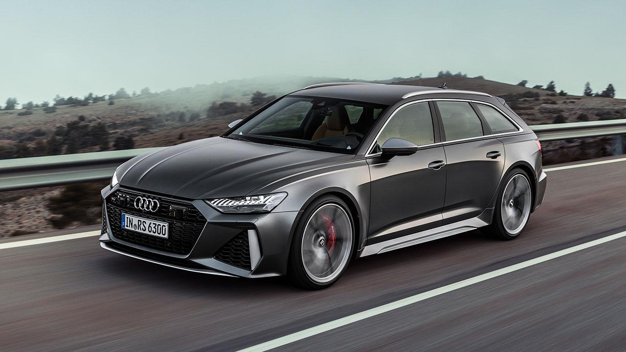 Audi RS 6 Avant - auf der Autobahn