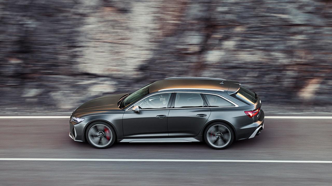 Audi RS 6 Avant - Vogelperspektive